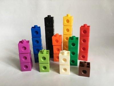 "【""USA"" Linking Snap Cubes  2公分連接方塊】"