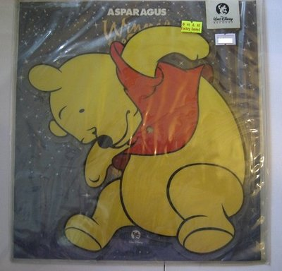 ducky's records* Winnie The Pooh: Asparagus EP/圖案唱片 (picture EP) (sealed)
