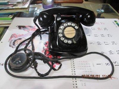 早期 四號機電木 古董電話