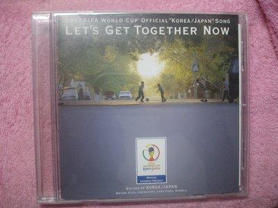 [原版光碟]H  2002 FIFA WORLD CUP OFFICIAL LETS GET TOGETHER NOW