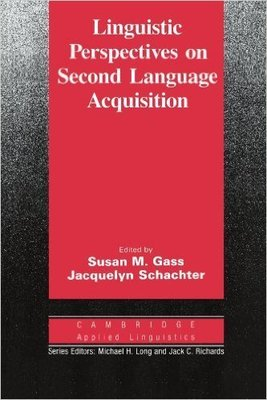 【特價】Linguistic Perspectives on Second Language Acquisition