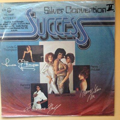 X黑膠唱片 英語  SILVER CONVENTION片況不錯 SUCCESS封面如照片