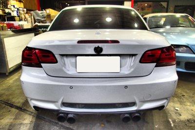 DJD19041711 BMW E92 E93 M3 後保桿套件 PP材質 M-TECH