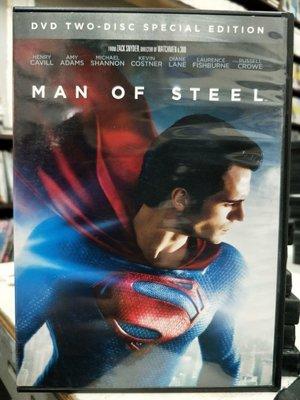 影音大批發-P11-108-二手DVD-電影【超人:鋼鐵英雄 雙碟特別版】-亨利卡維爾 艾美亞當斯 羅素克洛