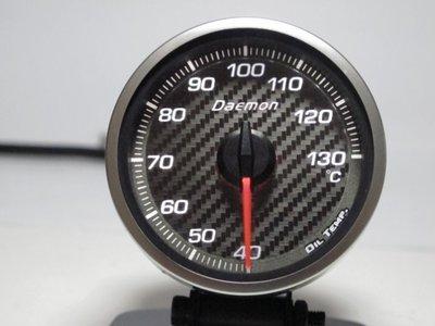 Daemon 新款 三代 碳纖維 面板 60mm 觸碰設定 水溫表 油溫表