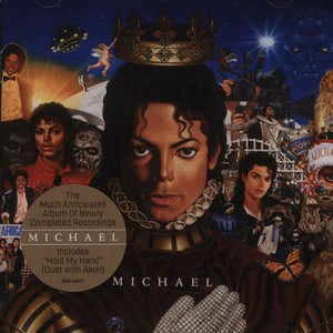 Michael Jackson 麥可傑克森 -- Michael 流行樂之王  全新未拆