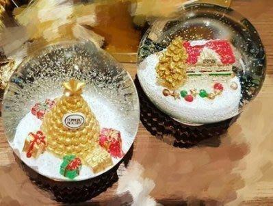 現貨供應  2016金莎水晶球  金沙水晶球   金莎塔+聖誕小屋  最後一組唷     情人節禮物  另有2017金莎