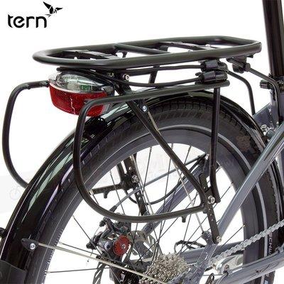 小哲居 Tern Cargo Rack 鋁合金附綁繩專用後貨架 / 適用Tern 20~26吋折疊車自行車