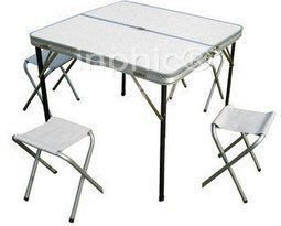 INPHIC-戶外桌子 分體桌椅 野餐桌 鋁合金折疊套裝