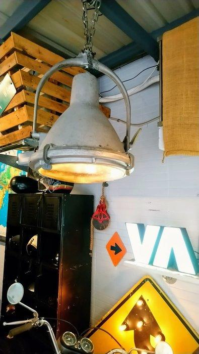 Vintage Americana。復古事 美國古董 機場用 投射燈 探照燈 復古 工業 吊燈