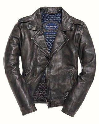 極度乾燥 Superdry Endurance Custom Leather Jacket 皮衣