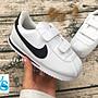 Washoes Nike KIDS Cortez PSV 阿甘 白黑 魔...