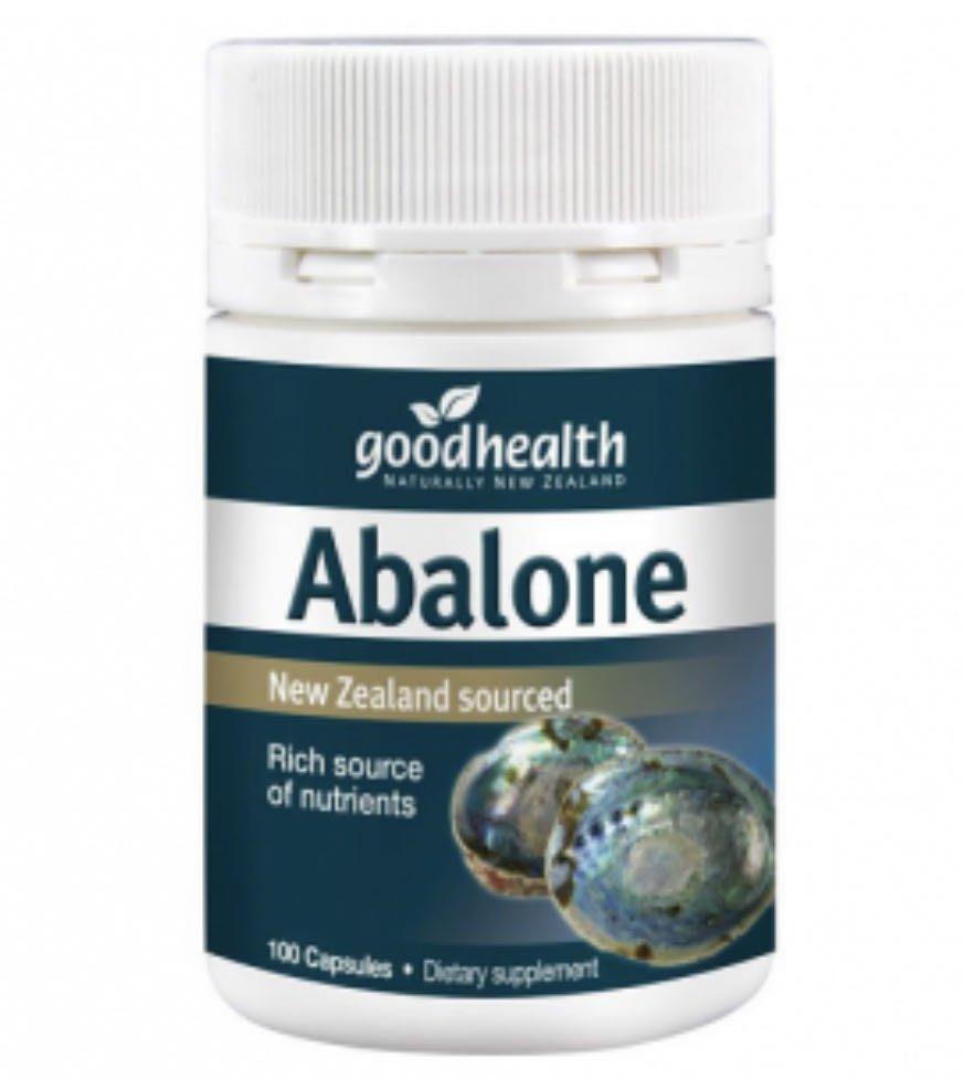 純淨紐西蘭🌿  好健康 Good Heath 鮑魚精 100粒 Abalone