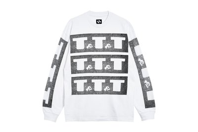"[ LAB Taipei ] THE TRILOGY TAPES ""T&T&T L/S T-SHIRT"" (White)"