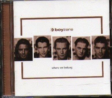 boyzone-where we belong CD