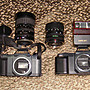 Canon T50  單眼底片相機 兩台一標