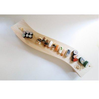 日本【土佐龍 tosaryu】檜木砧板 檜木擺盤餐座80cm 四萬十檜 懷石壽司餐檯擺盤餐座