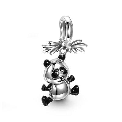 *現貨*SOUFEEL (PANDORA通用) 索菲爾 925 純銀 串珠 吊飾 熊貓 Charm