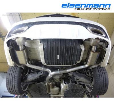 【樂駒】Eisenmann Mercedes-Benz W205 C180 C200 尾段 排氣管 排氣 系統 套件