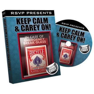 【意凡魔術小舖】Keep Calm and Carry On with John Carey|RSVP 大師13個有趣的流程