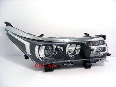 【UCC車趴】TOYOTA 豐田 COROLLA ALTIS 13 14 15 原廠型 Z版 LED 投射大燈 TYC製 高雄市
