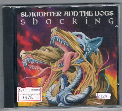 [鑫隆音樂]西洋CD-SLAUGHTER AND THE DOGE/SHOCKING {RRCD151}/全新