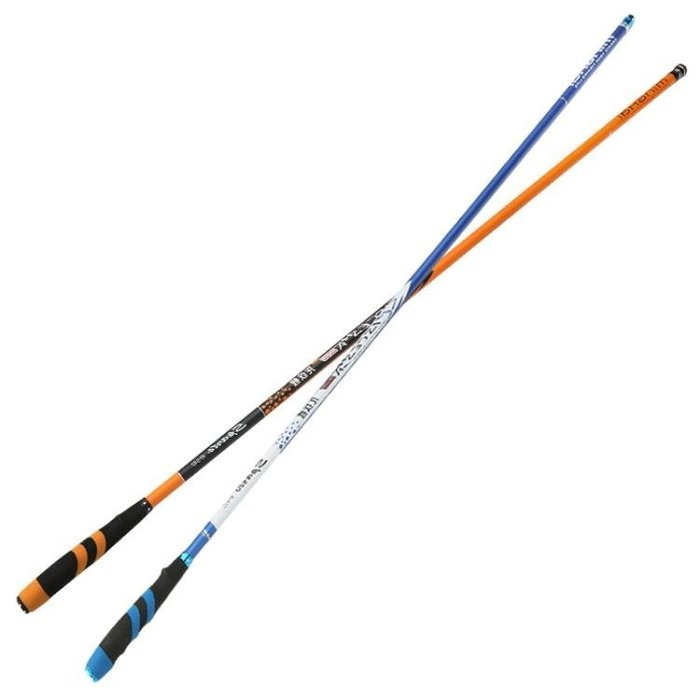 現貨/龍紋鯉魚竿臺釣竿碳素28調5.4米超輕超硬長節手竿買一送一57SP5RL/ 最低促銷價
