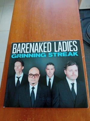 BARENAKED LADIES 裸體淑女合唱團 GRINNING STREAK 紙盒版CD