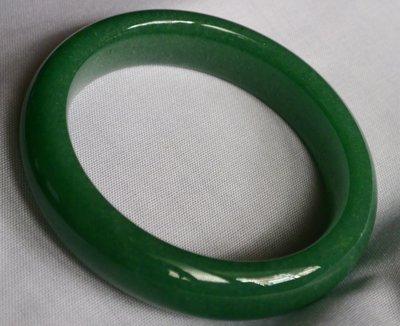 天然頂級綠東菱玉手鐲  59.6MM