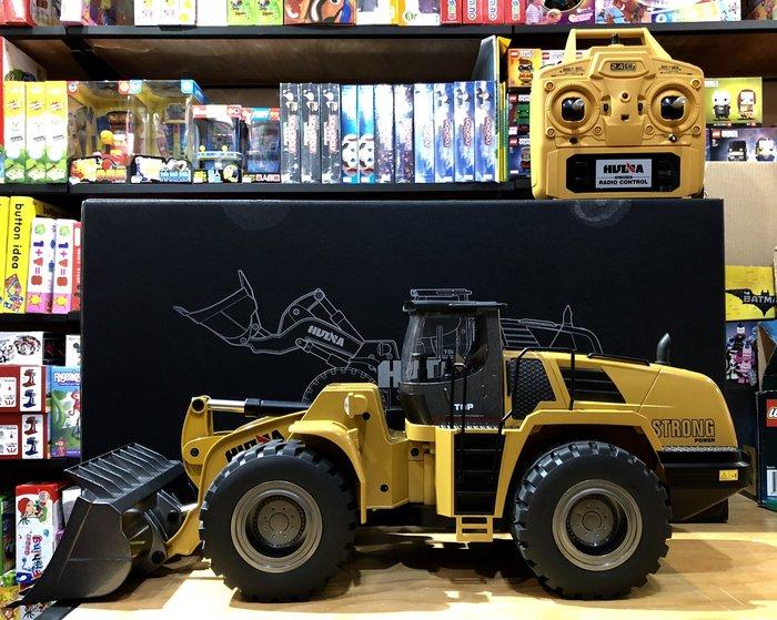 【W先生】HUINA 滙納 1:14 1/14 10動 遙控 裝卸機 鏟土 堆土機 挖土機 怪手 工程車 推土機