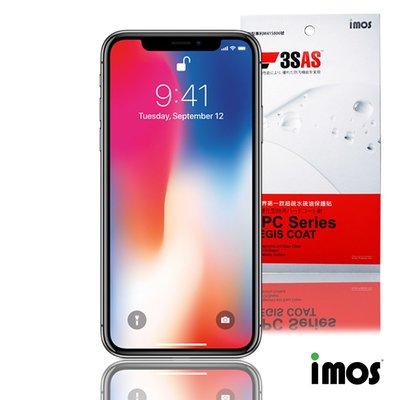 iMos 3SAS iPhone Xs Max 6.5吋 (非滿版)超抗潑水疏油效果保護貼-正面