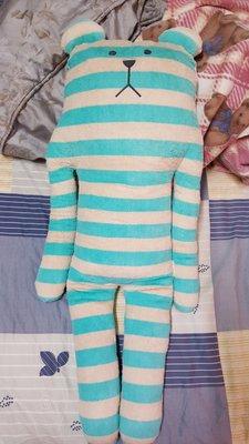 CRAFTHOLIC 宇宙人 絕版 夏日沙灘熊 大抱枕L號 二手 專櫃正品