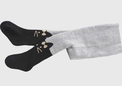 童裝冬季新款女童連褲襪 加絨加厚彈力打底褲子