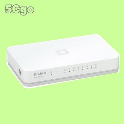 5Cgo【權宇】D-Link   DGS-1008A 8埠節能桌上型網路交換器 一年保固 含稅
