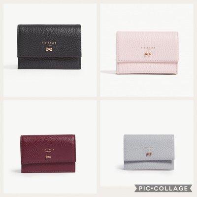 (預購)(四色)英國TED BAKER Eves small leather purse真皮 短夾/卡夾
