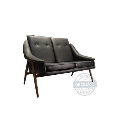 【Decker • 德克爾家飾】北歐家具 經典設計家具 老式復古 轉印鐵件 雙人沙發 Lobby Chair - 雙人