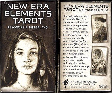 [牌的世界]新世紀元素塔羅牌new era elements tarot(80張)