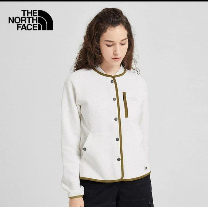 小阿姨shop The North Face 北面女抓絨户外舒適保暖针織外套 3VU5