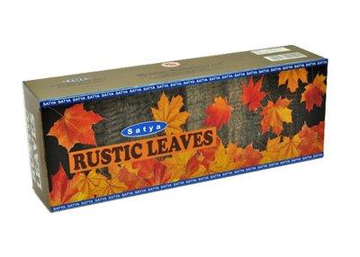 [晴天舖] 印度線香 Satya RUSTIC LEAVES 楓葉紛飛 花草調和 250克 超值量販香