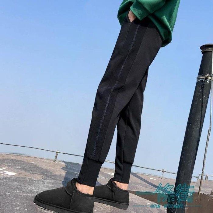 [優品購生活館]休閒褲女秋春加絨運動褲女學生韓版
