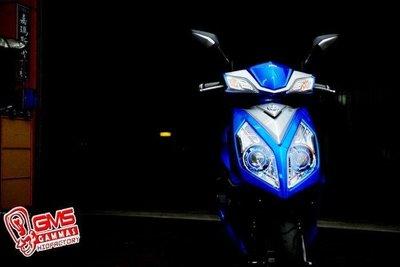 SYM NEW FIGHTER 6代 遠近魚眼HID大燈模組改裝 LED內外光圈 天使眼 惡魔眼 電鍍飾圈 NFT