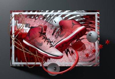 """S.G NIKE Jordan 31 XXXI """"Chicago"""" AJ31 芝加哥 白紅 籃球鞋 845037-600"""