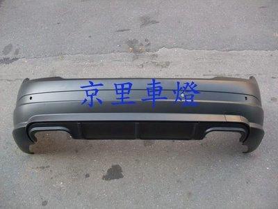 京里車燈專網  賓士 BENZ W204 08 09 10年 C63 AMG 後保桿 也有側裙 前保桿 C200 C300