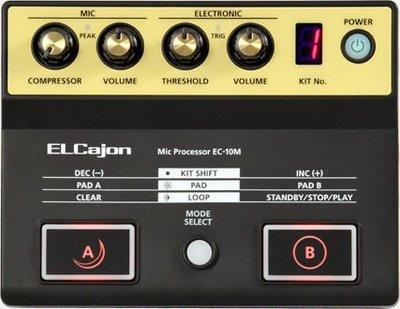 [魔立樂器] Roland EC-10M 木箱鼓效果器 音源機 讓你的木箱鼓升級為電子鼓 贈專用導線