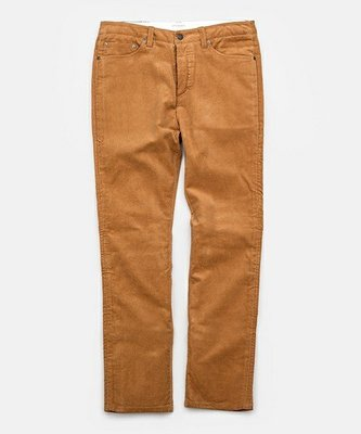 WaShiDa【572】SATURDAYS NYC 美國品牌 RONNIE 燈芯絨 長褲 休閒褲 現貨 棕色 SALEE