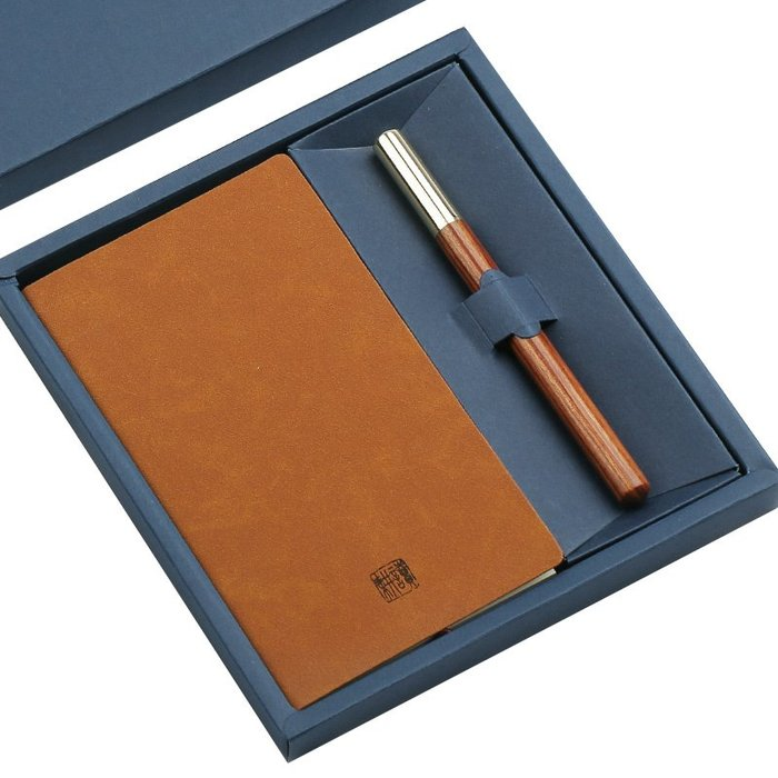 古典中國風記事本簽字筆套裝 商務高端筆記本子創意古風禮物定制