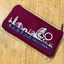 清華大學拉鍊筆袋-紫