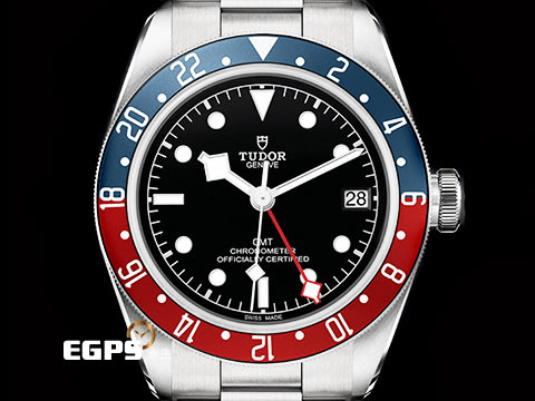 【永久流當品】TUDOR 帝舵 BLACK BAY GMT 79830RB 兩地時區 紅藍圈 可樂圈 EPN6249