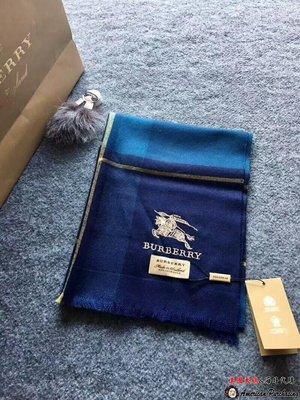 美國大媽代購 Burberry 巴寶莉 貴氣時尚 經典格紋男款商務精品圍巾 英倫時尚 美國outlet代購