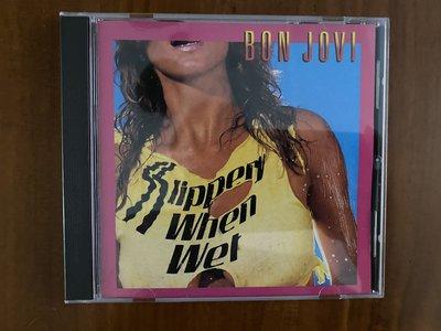 BON JOVI SLIPPERY WHEN WET CD 日本版